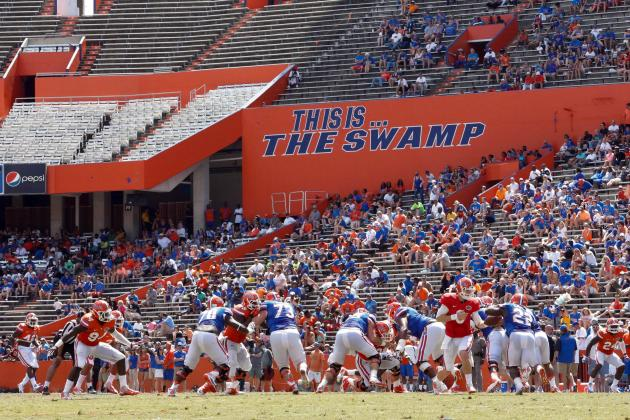 Florida Gators Football: Final Winners and Losers from Spring Ball