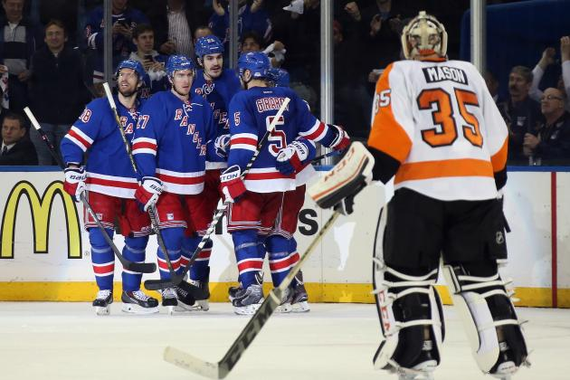 Philadelphia Flyers' Weaknesses Exposed in Playoff Series vs. Rangers