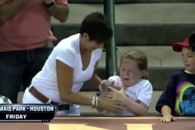 Horrible Sports Fans Stealing Stuff from Kids
