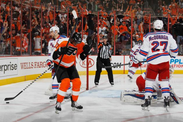 Ranking the Top 5 Philadelphia Flyers Goals in 2014 NHL Playoffs So Far