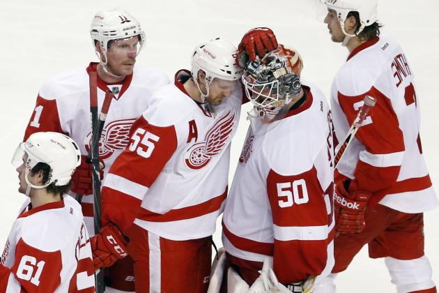 Detroit Red Wings Players Who Failed to Meet Expectations in 2014 NHL Playoffs