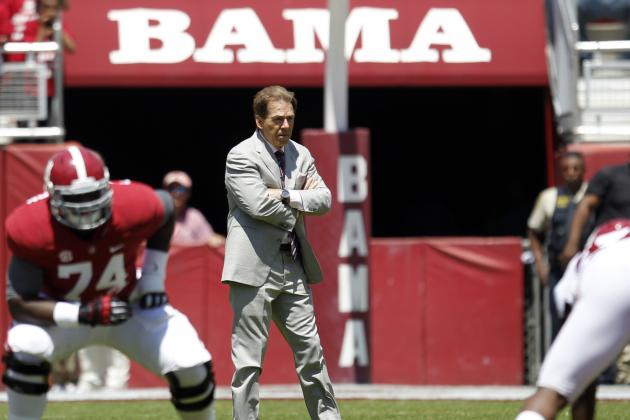 Alabama Football: 5 Things We Learned About Tide This Spring