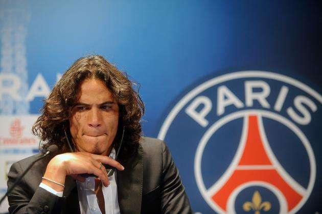 Power Ranking the Week's 20 Hottest Transfer Rumours: Cavani to United?
