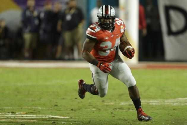 NFL Draft 100: Matt Miller's Top Running Backs