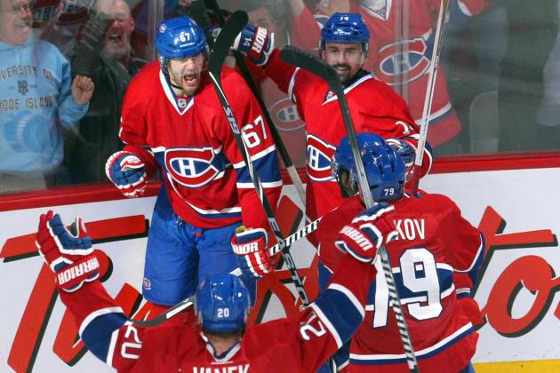 Ranking the Top 5 Montreal Canadiens Goals in 2014 NHL Playoffs So Far