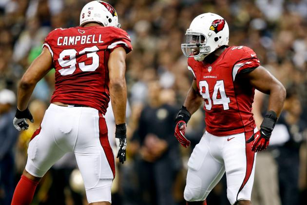 Projecting Arizona Cardinals' 2-Deep Depth Chart Pre-2014 NFL Draft