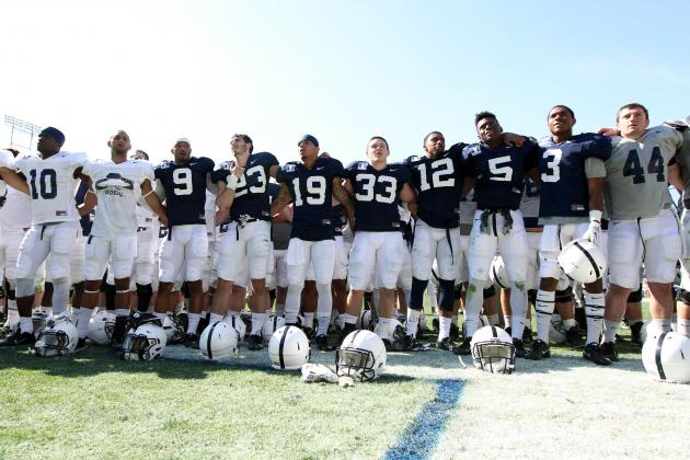Penn State Football: Projecting Post Spring 2-Deep Depth