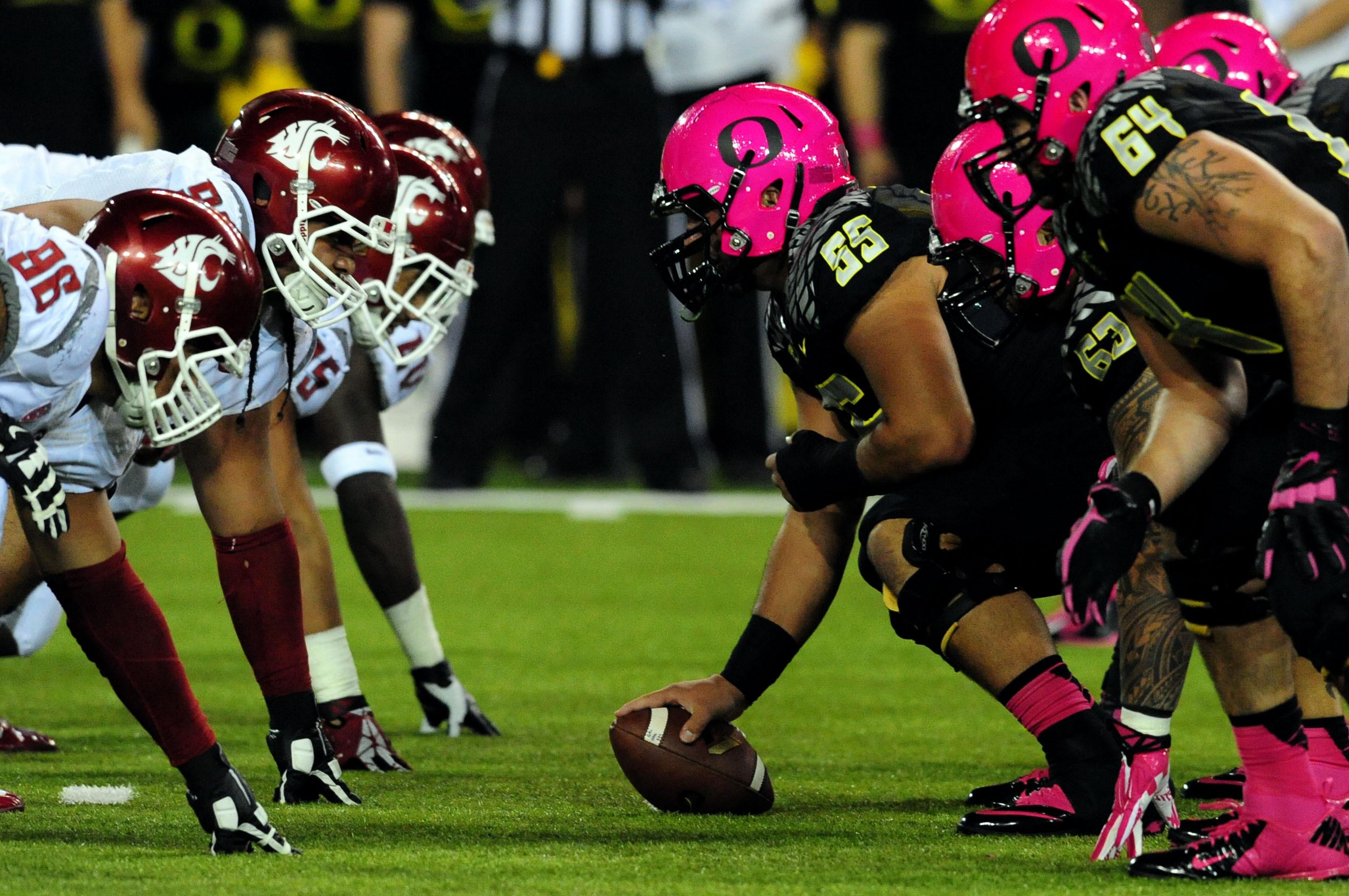 Oregon Ducks Football Helmets 2014 10 College Football Te...