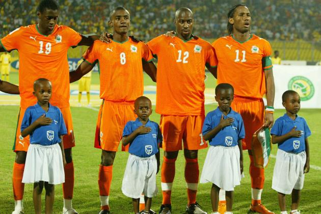 The Cote D'Ivoire & the Top 5 African Golden Generations