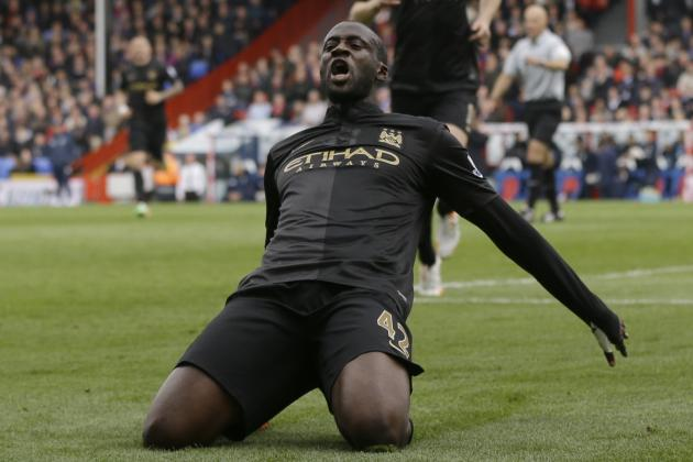 Yaya Toure's 5 Most Important Manchester City Goals