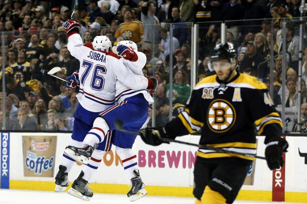 5 Key Statistics for Series Between Montreal Canadiens and Boston Bruins