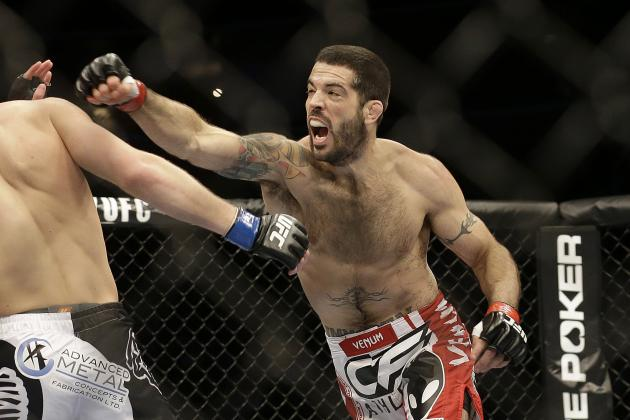 UFC Fight Night 40: Main Card Betting Odds and Predictions