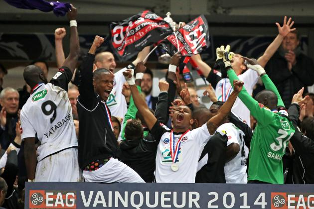 Guingamp Upset Neighbours Rennes by Lifting the 2014 Coupe De France