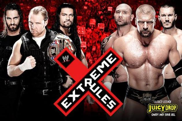 Extreme Rules 2014: Best Spot from Each Match
