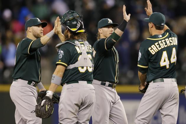 10 Biggest Takeaways from the First Month of the Oakland Athletics' Season