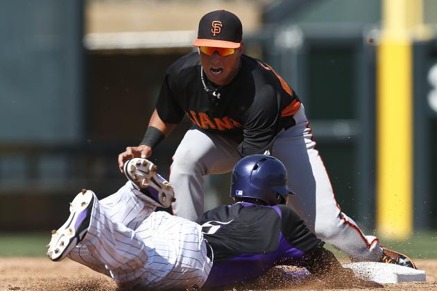 Stock Up, Stock Down for San Francisco Giants' Top 10 Prospects Entering Week 6