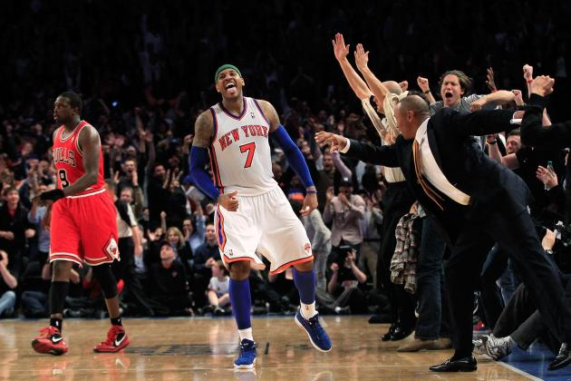 Greatest Moments from Carmelo Anthony's Time with NY Knicks
