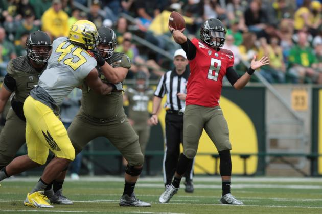 Oregon Football: Top Performers from the Ducks' Spring Game