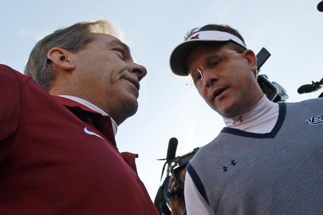 Power Ranking SEC Football Coaches Post 2014 Spring Practice