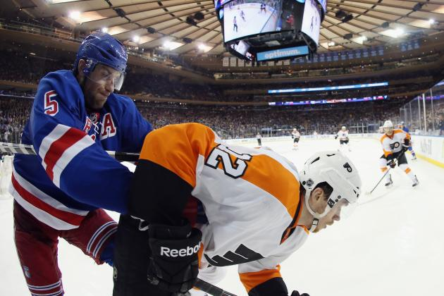 New York Rangers' Best Hits in 2014 NHL Playoffs So Far