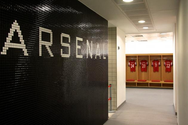 Inside Arsenal's Emirates Stadium: B/R Photos Exclusive