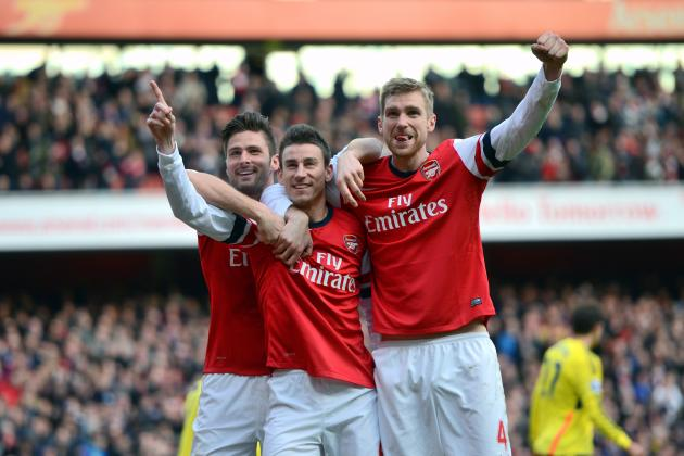 Power Ranking Every Arsenal Player from the 2013/14 Premier League Season