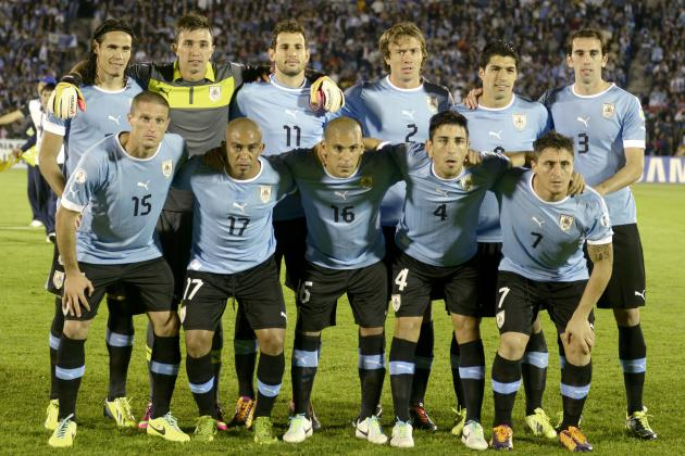 Uruguay 2014 FIFA World Cup Squad: Player-by-Player Guide