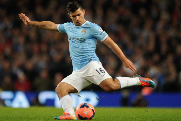 Power Ranking the Week's 20 Hottest Transfer Rumours: Sergio Aguero to Barca?