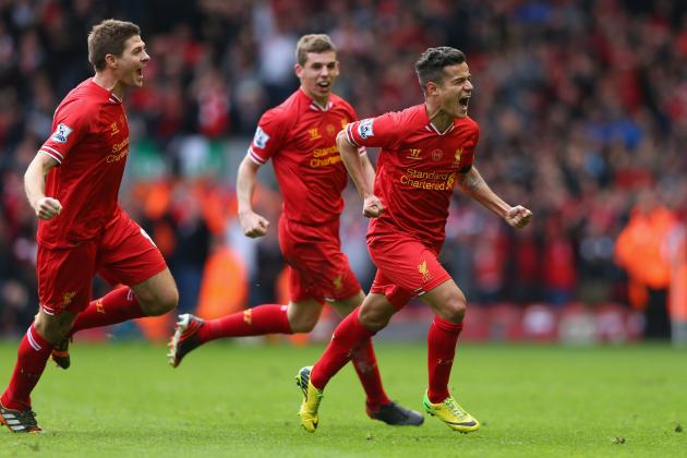 Power Ranking Every Liverpool Player from the 2013/14 Premier League Season