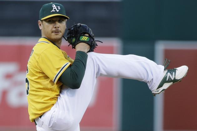 Oakland A's: 5 Pitching Performance Reviews from Series Versus Seattle Mariners