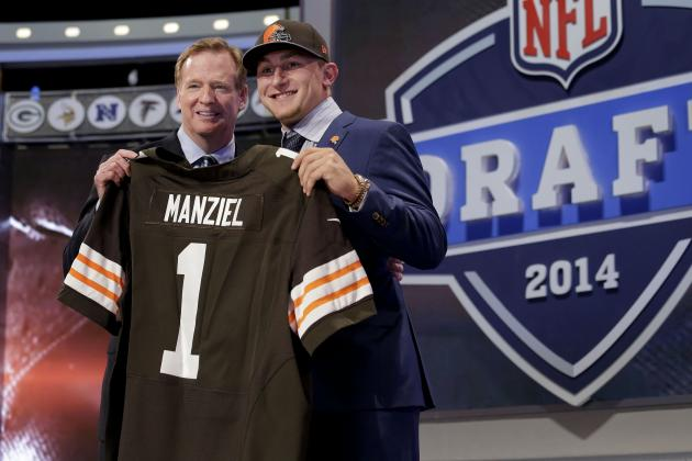 2014 NFL Draft Tracker: Full List of Picks and Results