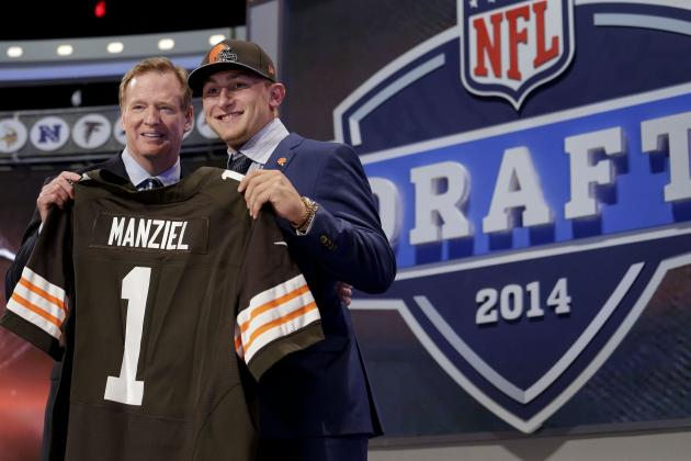 NFL Draft 2014: Fantasy Football Impact & Stock Report from Day 1