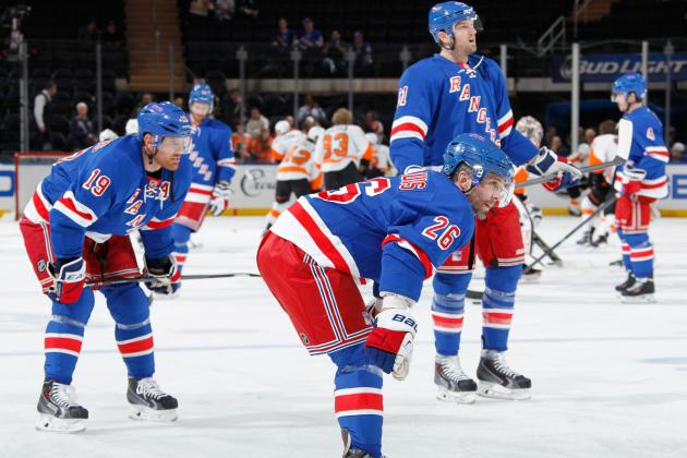 Stock Up, Stock Down for New York Rangers Stars in 2014 NHL Playoffs