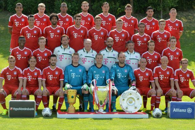 Power Ranking Every Bayern Munich Player from the 2013/14 Bundesliga Season