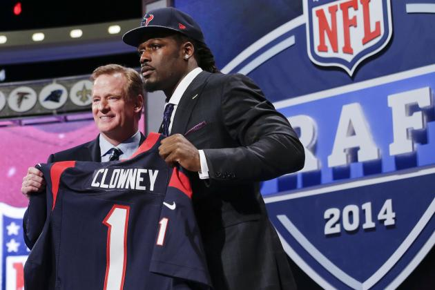 2014 NFL Rookie Season Predictions for Every 1st-Round Pick