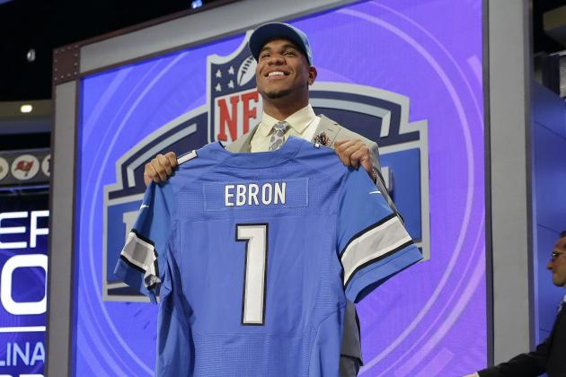 Initial Post-Draft Depth Chart for Detroit Lions