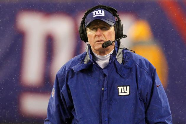 Initial Post-Draft Depth Chart for New York Giants