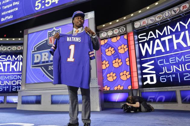 Early Rookie of the Year Odds for 2014 NFL Draft Picks