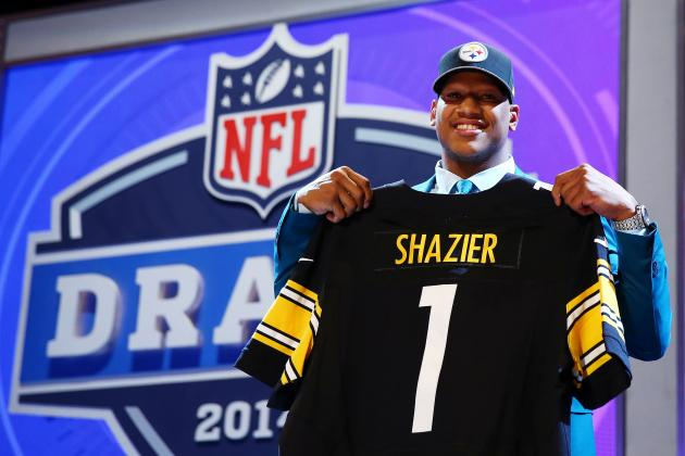 Initial Post-Draft Depth Chart for Pittsburgh Steelers