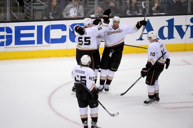 Anaheim Ducks vs. Los Angeles Kings: Biggest Takeaways from Game 4