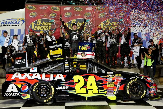 NASCAR at Kansas 2014: Winners and Losers from the 5-Hour Energy 400