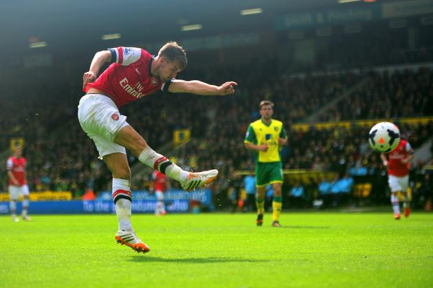 Norwich City vs. Arsenal: 5 Things We Learned as Ramsey Volley Beats Canaries