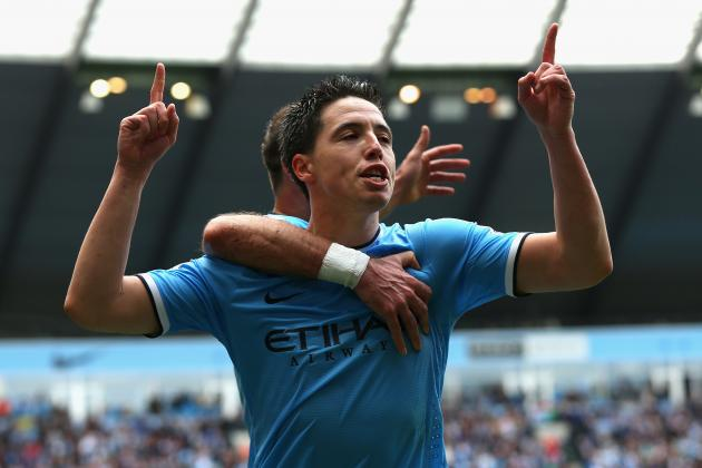 Premier League Team of the Week: Bony, Gerrard & Nasri Star