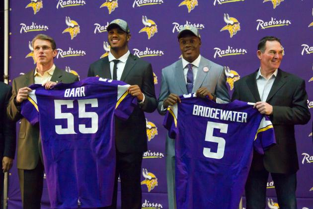 Minnesota Vikings 2014 Draft: Aggregating Report Card Grades from Around the Web