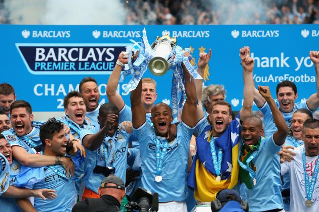 Premier League Weekend in 20 Pictures: Manchester City Claim EPL Title