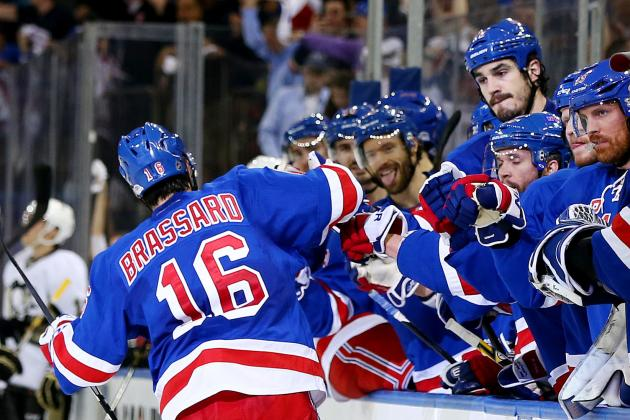 The Most Impressive New York Rangers in Series vs. Pittsburgh Penguins