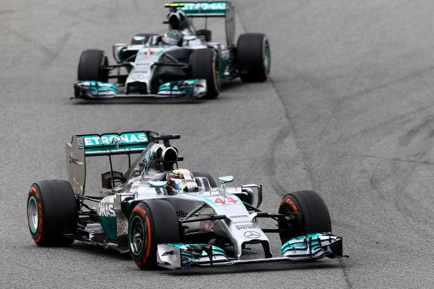Power Ranking the Formula 1 Teams After 2014 Spanish Grand Prix