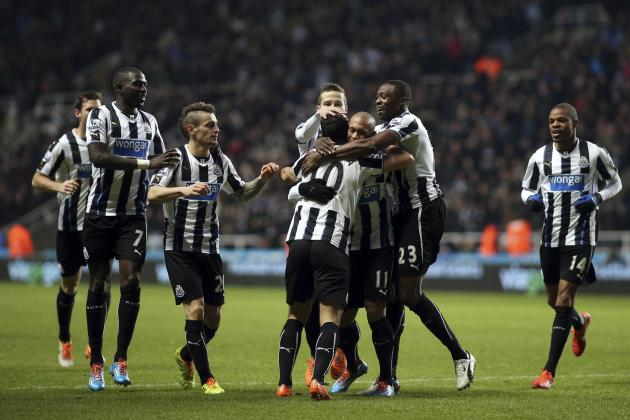 Ranking Every Newcastle United Player from the 2013/14 Premier League Season