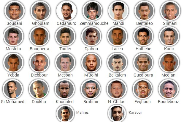 Algeria 2014 FIFA World Cup Squad: Player-by-Player Guide
