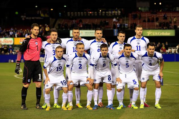 Bosnia and Herzegovina FIFA 2014 World Cup Team Guide